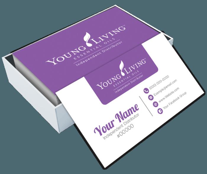 Επαγγελματικές Κάρτες με έγχρωμη εκτύπωση 2 όψεων